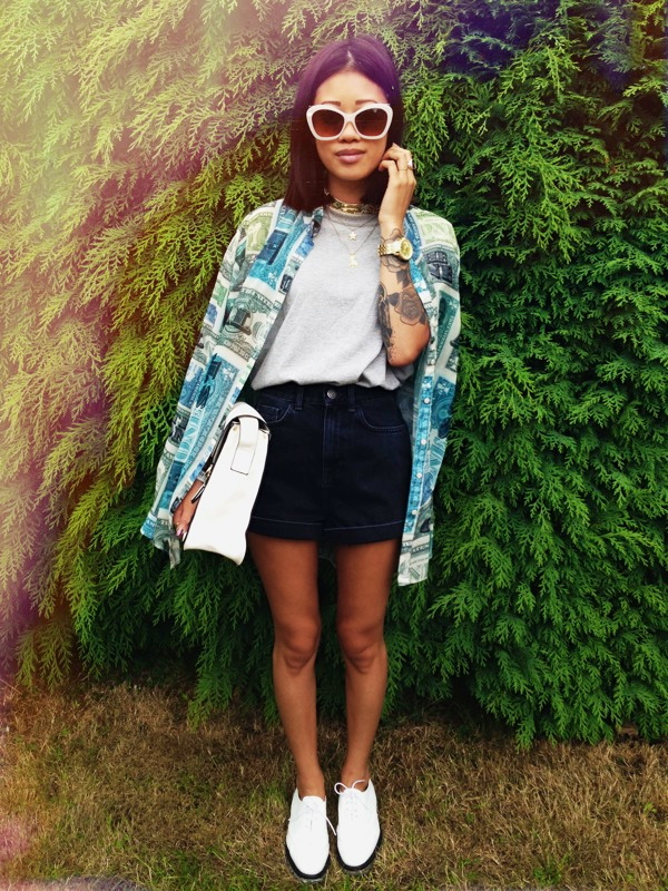 Cool Fashion Blogger Yanin Styles The Kourtney